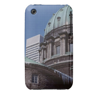 Old-fashioned architecture, cropped iPhone 3 Case-Mate cases