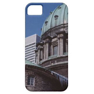 Old-fashioned architecture, cropped case for the iPhone 5