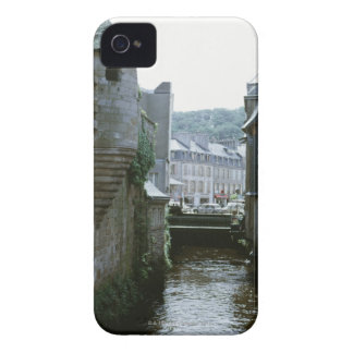 Old-fashioned architecture in canal city, iPhone 4 covers
