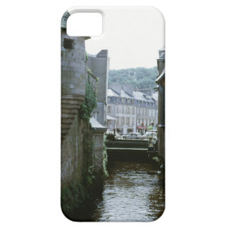 Old-fashioned architecture in canal city, iPhone 5 covers