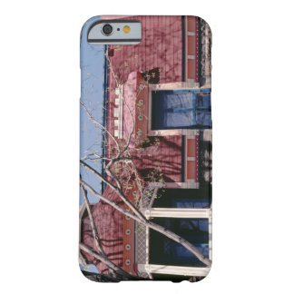 Old-fashioned architecture with balcony barely there iPhone 6 case