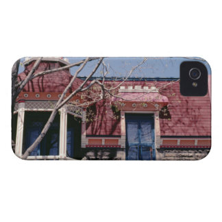 Old-fashioned architecture with balcony Case-Mate iPhone 4 cases