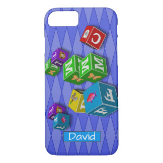 Old Fashioned Children's Blocks iPhone 8/7 Case