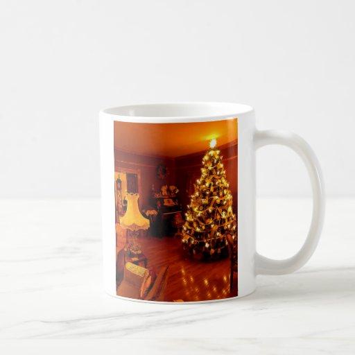 old fashioned chistmas, Old Fashioned Christmas Coffee Mugs