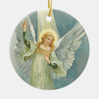 Old Fashioned Christmas Angel Gloria Christmas Ornament