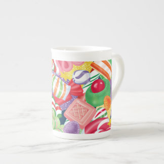 Old Fashioned Christmas Candy Mug