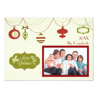Old Fashioned Christmas - Christmas Card 13 Cm X 18 Cm Invitation Card