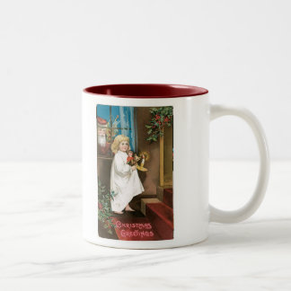 Old Fashioned Christmas Greetings Mug