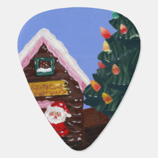 Old Fashioned Christmas Guitar Pick