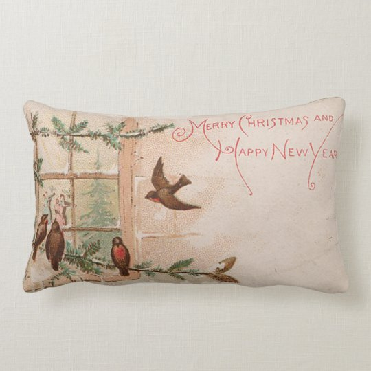Old Fashioned Christmas Pillow