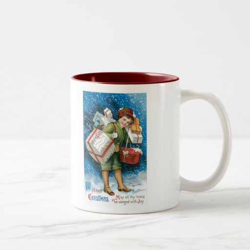 Old Fashioned Christmas Presents Coffee Mug