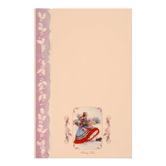 Old Fashioned Christmas Shopping Stationery