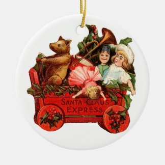 Old-fashioned Christmas, Toy box Christmas Ornament