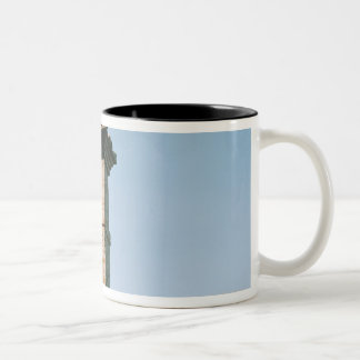 Old-fashioned church bells, Assisi, Italy Two-Tone Coffee Mug