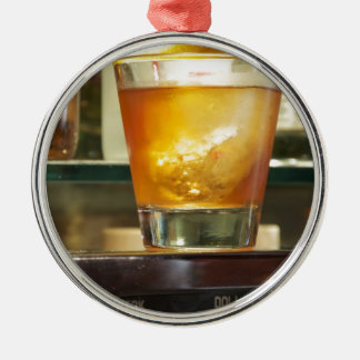 Old Fashioned Cocktail Series Christmas Ornament