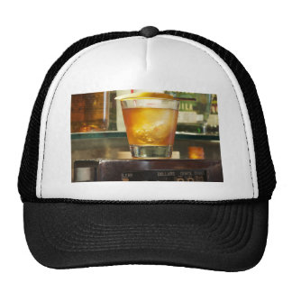 Old Fashioned Cocktail Series Mesh Hats