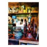 Old Fashioned Coffee Grinder Custom Invitation