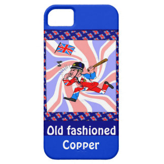 Old fashioned copper case for the iPhone 5