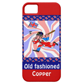 Old fashioned copper iPhone 5 case