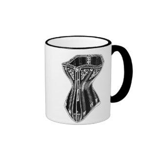 Old Fashioned Corset Ringer Mug