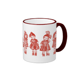 Old Fashioned Dolls Coffee Mug