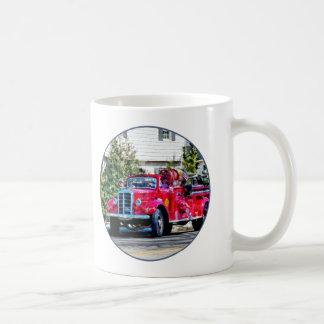 Old Fashioned Fire Truck Coffee Mug