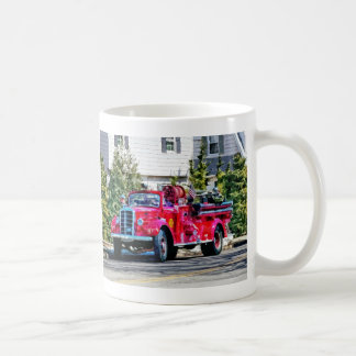 Old Fashioned Fire Truck Coffee Mugs