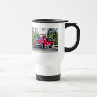 Old Fashioned Fire Truck Mug