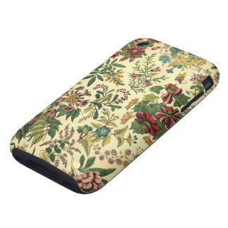 Old Fashioned Floral Abundance iPhone 3 Tough Cover