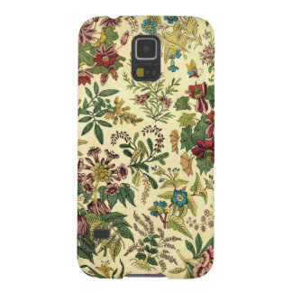 Old Fashioned Floral Abundance Case For Galaxy S5