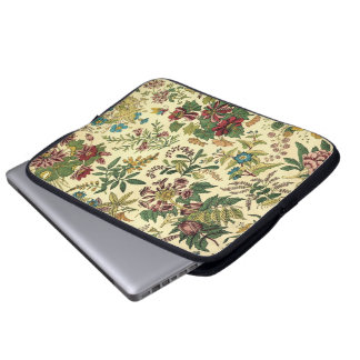 Old Fashioned Floral Abundance Laptop Sleeve
