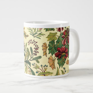 Old Fashioned Floral Abundance Large Coffee Mug