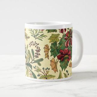 Old Fashioned Floral Abundance Jumbo Mug