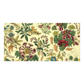 Old Fashioned Floral Abundance Photo Cards