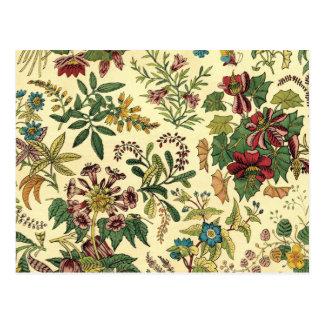 Old Fashioned Floral Abundance Postcard