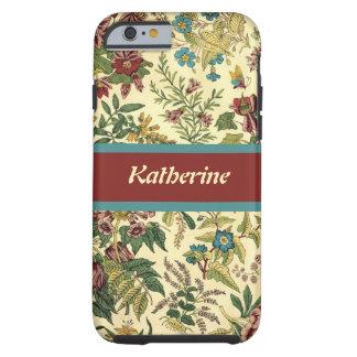 Old Fashioned Floral Abundance Tough iPhone 6 Case