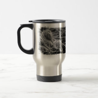 Old Fashioned Flowers; Customizable Stainless Steel Travel Mug