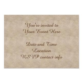Old-Fashioned Flowers 13 Cm X 18 Cm Invitation Card
