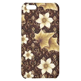 Old-Fashioned Flowers iPhone 5C Case