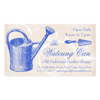 Old Fashioned Garden Supply, Florist Shop Business Card Templates