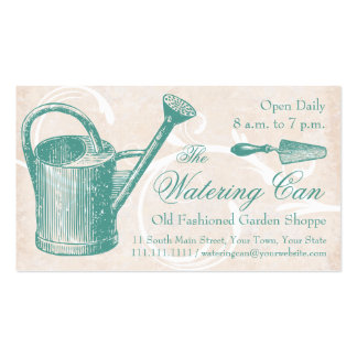 Old Fashioned Garden Supply, Florist Shop Business Card