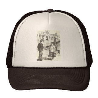 Old Fashioned Girl Mesh Hat