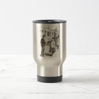 Old Fashioned Girl Coffee Mugs