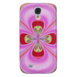 Old Fashioned - GoodLuck Floral Print Samsung Galaxy S4 Covers