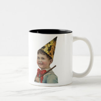 Old Fashioned Halloween Boy Coffee Mug