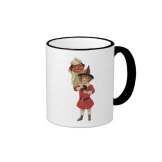 Old Fashioned Halloween Girl Coffee Mug