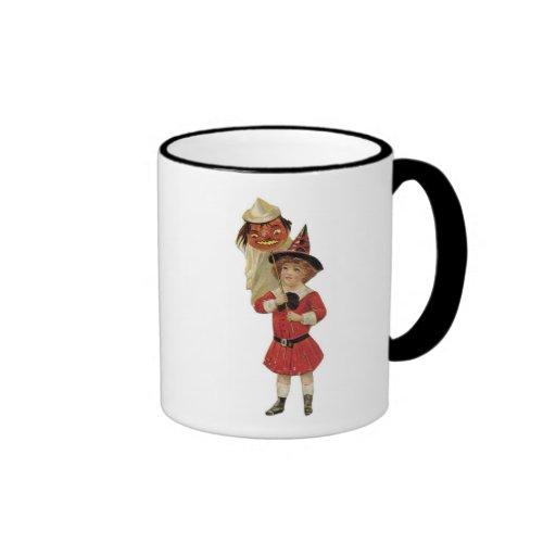 Old Fashioned Halloween Girl Coffee Mug