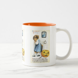 Old Fashioned Hallowe'en Greetings Coffee Mugs