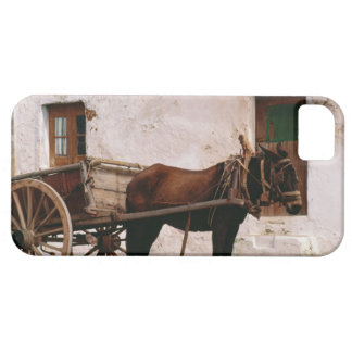 Old-fashioned horse-drawn cart iPhone 5 case
