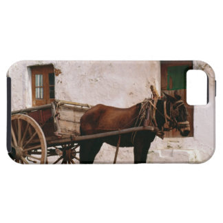 Old-fashioned horse-drawn cart iPhone 5 cover